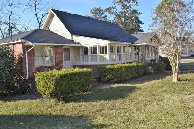 Brookfield, Chula, Tifton, Irwinville, Omega, Poulan, Sycamore, Sumner, Ty Ty, Ashburn, Rebecca Single Family Home For Sale: 549 McLendon Street