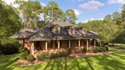 Brookfield, Chula, Tifton, Irwinville, Omega, Poulan, Sycamore, Sumner, Ty Ty, Ashburn, Rebecca Single Family Home For Sale: 84 Long Pine Rd