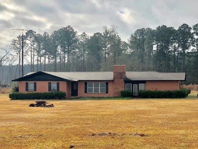 Ocilla, Irwinville, Chula, Wray , Abbeville, Fitzgerald, Mystic, Ashburn, Sycamore, Rebecca Single Family Home For Sale: 1327 Satilla Road