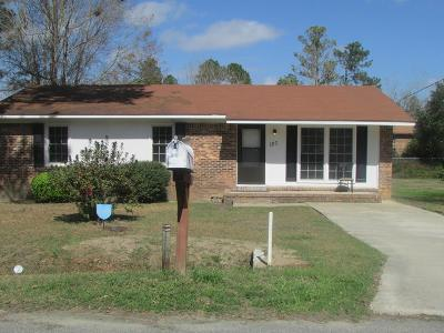 Brookfield, Chula, Tifton, Irwinville, Omega, Poulan, Sycamore, Sumner, Ty Ty, Ashburn, Rebecca Single Family Home For Sale: 127 Kennedy Ave.