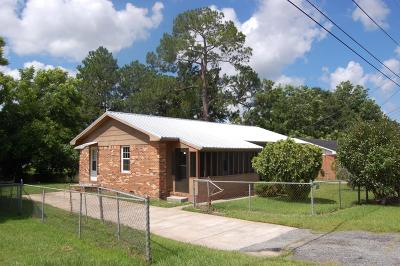 Brookfield, Chula, Tifton, Irwinville, Omega, Poulan, Sycamore, Sumner, Ty Ty, Ashburn, Rebecca Single Family Home For Sale: 124 Wilson Street