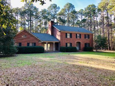 Brookfield, Chula, Tifton, Irwinville, Omega, Poulan, Sycamore, Sumner, Ty Ty, Ashburn, Rebecca Single Family Home For Sale: 7 Long Pine Rd