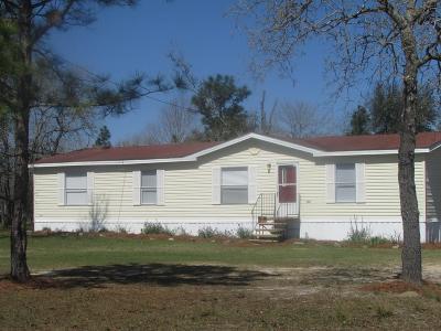 Ocilla, Irwinville, Chula, Wray , Abbeville, Fitzgerald, Mystic, Ashburn, Sycamore, Rebecca Single Family Home For Sale: 105 Cedar Rd.