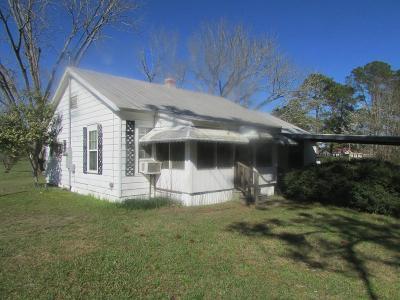 Ocilla, Irwinville, Chula, Wray , Abbeville, Fitzgerald, Mystic, Ashburn, Sycamore, Rebecca Single Family Home For Sale: 804 Frank Rd.