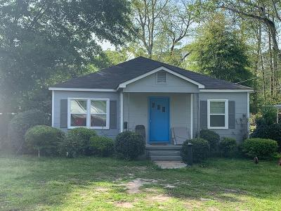 Brookfield, Chula, Tifton, Irwinville, Omega, Poulan, Sycamore, Sumner, Ty Ty, Ashburn, Rebecca Single Family Home For Sale: 1002 Lee Avenue