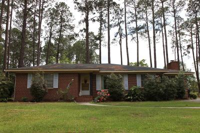Brookfield, Chula, Tifton, Irwinville, Omega, Poulan, Sycamore, Sumner, Ty Ty, Ashburn, Rebecca Single Family Home For Sale: 2806 Rebecca Rd
