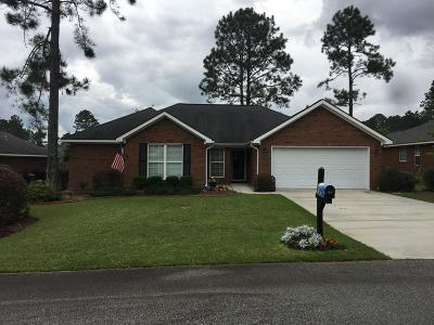 Brookfield, Chula, Tifton, Irwinville, Omega, Poulan, Sycamore, Sumner, Ty Ty, Ashburn, Rebecca Single Family Home For Sale: 125 Cypress Ridge Rd