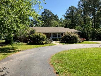 Brookfield, Chula, Tifton, Irwinville, Omega, Poulan, Sycamore, Sumner, Ty Ty, Ashburn, Rebecca Single Family Home For Sale: 5509 S Hwy 41