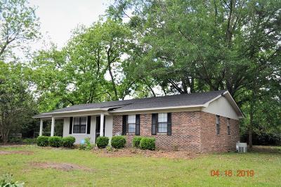 Ocilla, Irwinville, Chula, Wray , Abbeville, Fitzgerald, Mystic, Ashburn, Sycamore, Rebecca Single Family Home For Sale: 154 Traylor Ave
