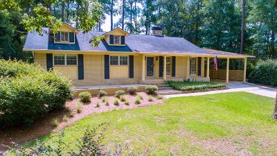 Brookfield, Chula, Tifton, Irwinville, Omega, Poulan, Sycamore, Sumner, Ty Ty, Ashburn, Rebecca Single Family Home For Sale: 109 Carolina Drive
