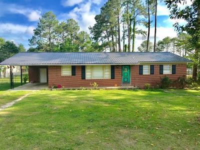 Lake Blackshear, Cordele, Warwick, Arabi, Ashburn, Rebecca, Sycamore Single Family Home For Sale: 815 Cedar