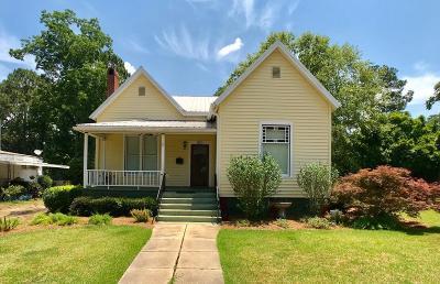 Ocilla, Irwinville, Chula, Wray , Abbeville, Fitzgerald, Mystic, Ashburn, Sycamore, Rebecca Single Family Home For Sale: 510 S Lee Street