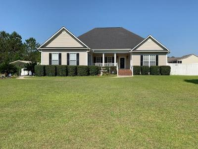 Brookfield, Chula, Tifton, Irwinville, Omega, Poulan, Sycamore, Sumner, Ty Ty, Ashburn, Rebecca Single Family Home For Sale: 153 Cambridge Ct