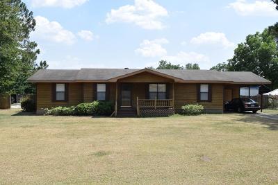 Ocilla, Irwinville, Chula, Wray , Abbeville, Fitzgerald, Mystic, Ashburn, Sycamore, Rebecca Single Family Home For Sale: 138 Lee Ann Rd.