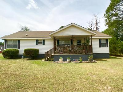 Brookfield, Chula, Tifton, Irwinville, Omega, Poulan, Sycamore, Sumner, Ty Ty, Ashburn, Rebecca Single Family Home For Sale: 1810 Marion Drive