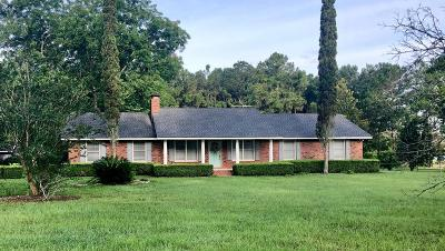 Brookfield, Chula, Tifton, Irwinville, Omega, Poulan, Sycamore, Sumner, Ty Ty, Ashburn, Rebecca Single Family Home For Sale: 228 Mitchell Store Rd