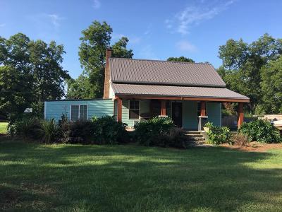 Ocilla, Irwinville, Chula, Wray , Abbeville, Fitzgerald, Mystic, Ashburn, Sycamore, Rebecca Single Family Home For Sale: 1922 W Ga Hwy 32