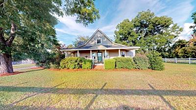 Brookfield, Chula, Tifton, Irwinville, Omega, Poulan, Sycamore, Sumner, Ty Ty, Ashburn, Rebecca Single Family Home For Sale: 760 Zion Hope Road