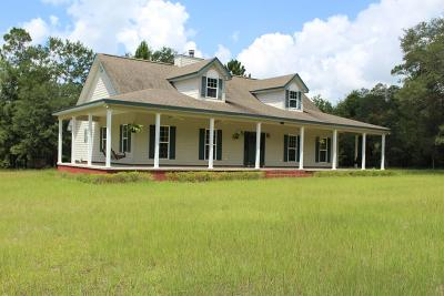 Brookfield, Chula, Tifton, Irwinville, Omega, Poulan, Sycamore, Sumner, Ty Ty, Ashburn, Rebecca Single Family Home For Sale: 138 Eureka Church Road