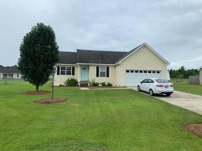 Brookfield, Chula, Tifton, Irwinville, Omega, Poulan, Sycamore, Sumner, Ty Ty, Ashburn, Rebecca Single Family Home For Sale: 32 Chase Circle