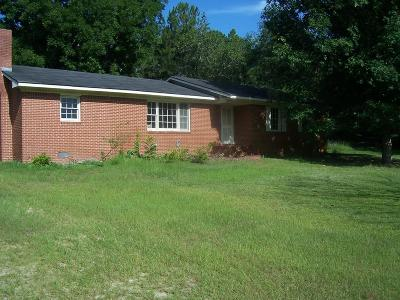 Brookfield, Chula, Tifton, Irwinville, Omega, Poulan, Sycamore, Sumner, Ty Ty, Ashburn, Rebecca Single Family Home For Sale: 6 Baldree Road