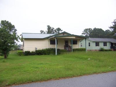 Lake Blackshear, Cordele, Warwick, Arabi, Ashburn, Rebecca, Sycamore Single Family Home For Sale: 816 W 28th Ave