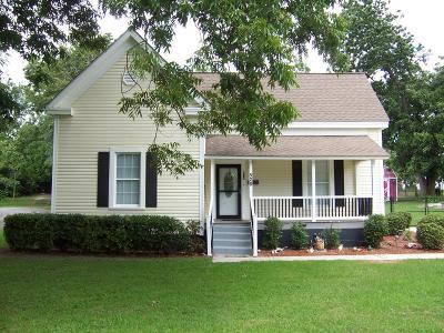Lake Blackshear, Cordele, Warwick, Arabi, Ashburn, Rebecca, Sycamore Single Family Home For Sale: 528 McLendon St