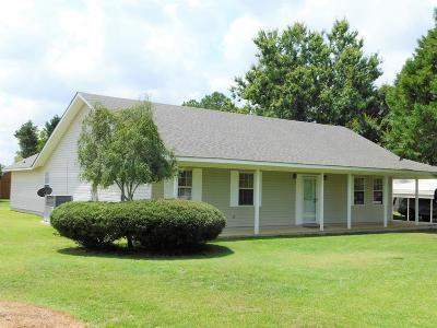 Lake Blackshear, Cordele, Warwick, Arabi, Ashburn, Rebecca, Sycamore Single Family Home For Sale: 1526 Bussey Rd
