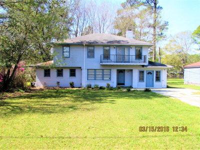 Quitman Single Family Home For Sale: 307 E Lake Drive