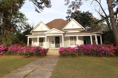 Valdosta Single Family Home For Sale: 1609 N Patterson St.