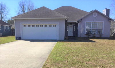 Valdosta Single Family Home For Sale: 2544 Muscogee Drive
