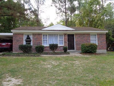 Valdosta Single Family Home For Sale: 1221 W Alden
