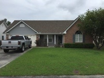 Berrien County, Brooks County, Cook County, Lanier County, Lowndes County Single Family Home For Sale: 626 Justin Drive