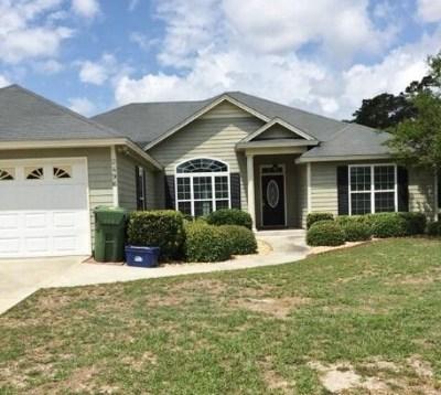 Valdosta Single Family Home For Sale: 2496 Chandler Drive