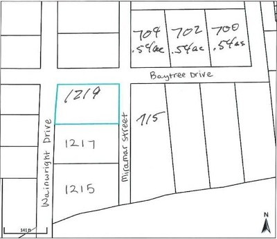 Commercial Lots & Land For Sale: 700, 702 Baytree Dr & Wainwright Dr