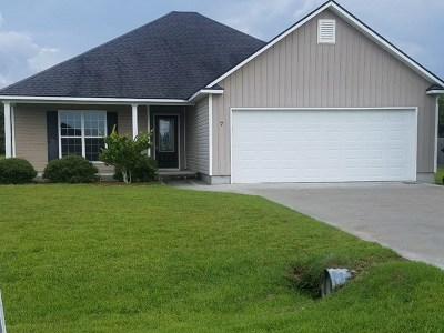 Berrien County, Brooks County, Cook County, Lanier County, Lowndes County Single Family Home For Sale: 7 Plantation Pointe