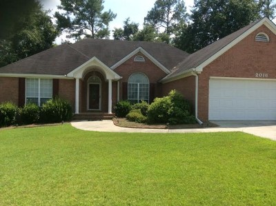 Berrien County, Brooks County, Cook County, Lanier County, Lowndes County Single Family Home For Sale: 2018 Oakdale Drive