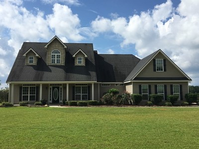 Berrien County, Brooks County, Cook County, Lanier County, Lowndes County Single Family Home For Sale: 27 Grand Bay School Lane