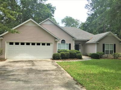 Berrien County, Brooks County, Cook County, Lanier County, Lowndes County Single Family Home For Sale: 2873 Sapelo