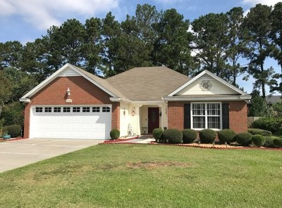Berrien County, Brooks County, Cook County, Lanier County, Lowndes County Single Family Home For Sale: 3432 Brandon Drive