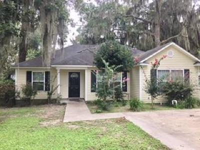 Berrien County, Brooks County, Cook County, Lanier County, Lowndes County Single Family Home For Sale: 4978 Oak Hill Drive