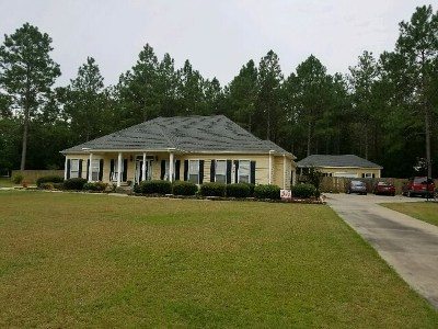 Berrien County, Brooks County, Cook County, Lanier County, Lowndes County Single Family Home For Sale: 1605 Shane Circle