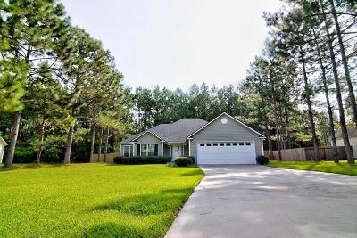Berrien County, Brooks County, Cook County, Lanier County, Lowndes County Single Family Home For Sale: 64 Cypress Trail