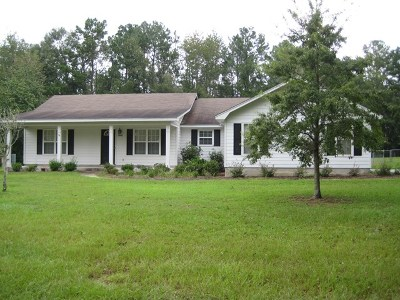Berrien County, Brooks County, Cook County, Lanier County, Lowndes County Single Family Home For Sale: 5841 S Allison Lane