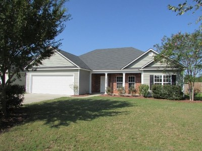 Valdosta Single Family Home For Sale: 3467 Green Hill Drive