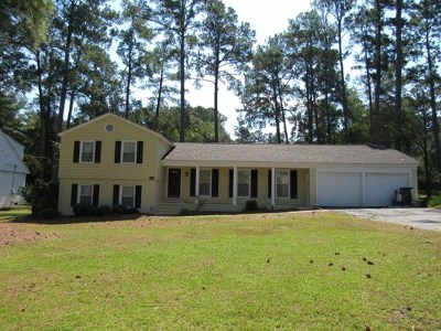 Valdosta Single Family Home For Sale: 2301 N Sherwood Drive