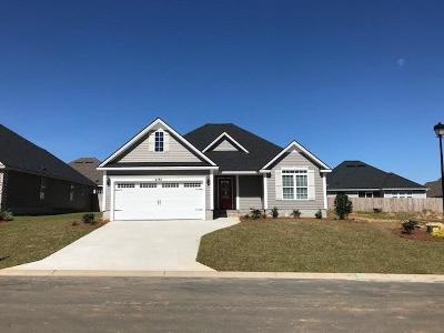 Hahira Single Family Home For Sale: 4186 Parker Trail