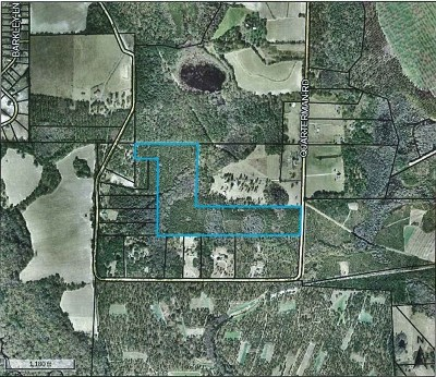 Commercial Lots & Land For Sale: 45.8 Acr Quarterman Road