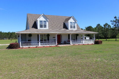 Berrien County, Brooks County, Cook County, Lanier County, Lowndes County Single Family Home For Sale: 5808 Clyattville Nankin Rd