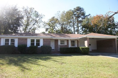 Berrien County, Brooks County, Cook County, Lanier County, Lowndes County Single Family Home For Sale: 3808 Tiffany Place